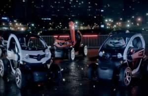 David et Cathy Guetta, ambassadeurs vrombissants d'énergie pour la Renault Twizy