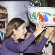 La princesse Mary de Danemark inaugurait le 16 mars 2012 une exposition pour le 50e anniversaire de Danida, l'organisme danois d'assistance au développement.
