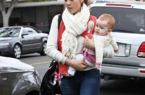 Jessica Alba : Préoccupée par une visite médicale, avec son adorable bébé