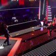 Prestation de Bruce Johnson dans The Voice le samedi 17 mars 2012 sur TF1