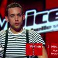 Prestation de Yohann Beaufils dans The Voice sur TF1 le samedi 17 mars 2012