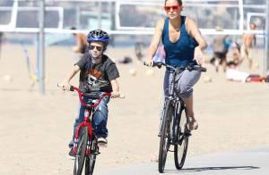 Kate Hudson : Balade à vélo avec son fils aîné... et un mariage secret démenti
