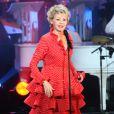 Annie Cordy lors de l'enregistrement de l'émission Les années bonheur, diffusée le 5 mai sur France 2
