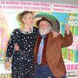 Julie Delpy et son père Albert Delpy présentent  2 days in New York  à Paris, le 19 mars 2012.
