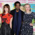 Julie Delpy, Chris Rock, Alexia Landeau présentent  2 days in New York  à Paris, le 19 mars 2012.