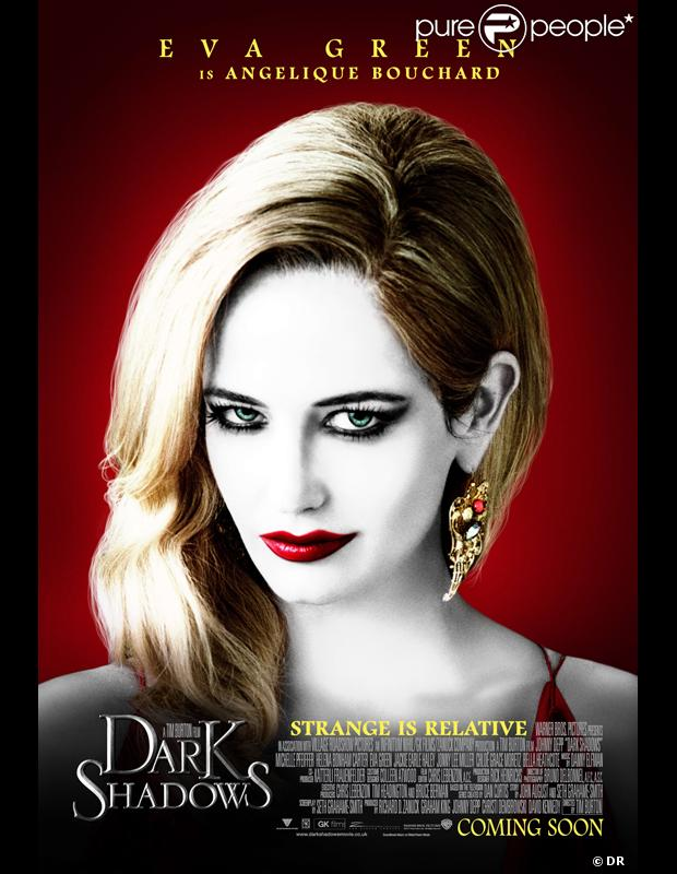 Eva Green dans Dark Shadows de Tim Burton