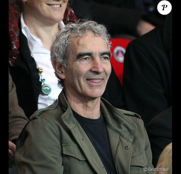 Raymond Domenech le 21 mars 2012 au Parc des Princes à Paris
