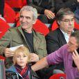 Raymond Domenech le 21 mars 2012 à Paris au Parc des Princes