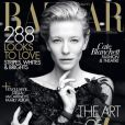 Cate Blanchett en couverture du Harper's Bazaar australien. Mai 2011.