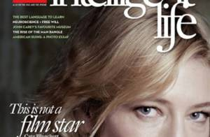 Cate Blanchett : l'actrice de 42 ans, sans maquillage ni Photoshop
