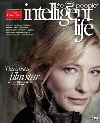 Cate Blanchett, au naturel sur la couverture du magazine Intelligent Life.