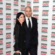 Mark Strong et sa femme lors de la soirée Jameson Empire Awards à Londres le 25 mars 2012