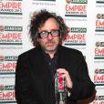 Tim Burton lors de la soirée Jameson Empire Awards à Londres le 25 mars 2012