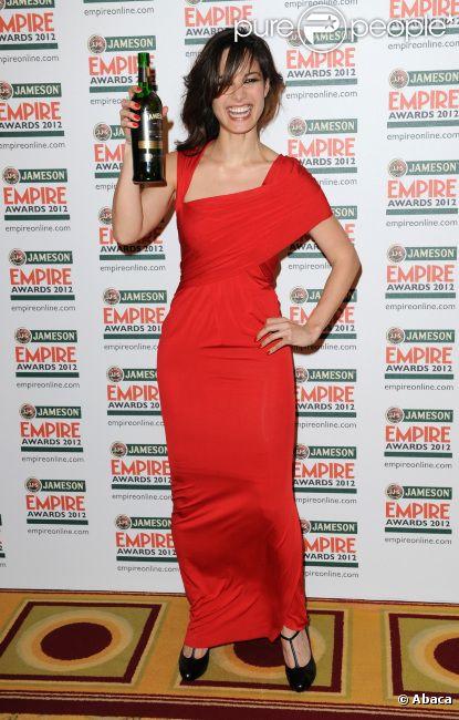 Bérénice Marlohe lors de la soirée Jameson Empire Awards à Londres le 25 mars 2012