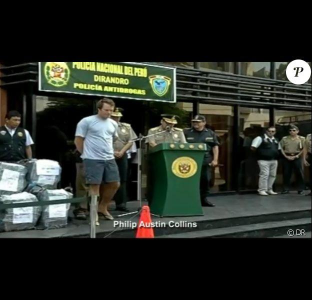 Philip Austin Collins, neveu de Phil Collins, a été arrêté au Pérou le 29 mars 2012 après la découverte de 40 kilos de cocaïne à bord de son yacht.