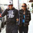 Jennifer Lopez et Casper Smart à Beverly Hills le 24 mars 2012.