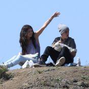 Justin Bieber et Selena Gomez : Pique-nique très câlin pour leurs retrouvailles