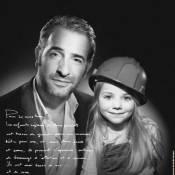 Jean Dujardin s'engage en noir et blanc pour les enfants en danger