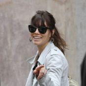 Jessica Biel: Souriante à Paris, elle prépare son mariage avec Justin Timberlake