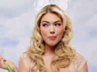 Kate Upton : La sulfureuse blonde vous souhaite de joyeuses Pâques