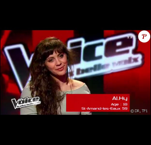 Al.Hy, talent de Jenifer, dans The Voice