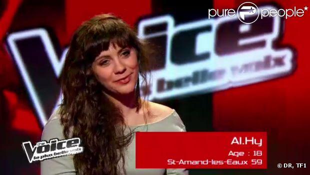 Al.Hy, talent de Jenifer, dans The Voice