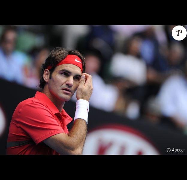 Roger Federer le 20 janvier 2012 à Melbourne