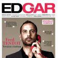 Fred Testot en couverture de Edgar Magazine