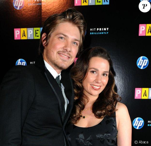 Taylor Hanson et son épouse