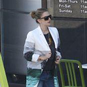 Drew Barrymore, shopping pour bébé : pas facile de cacher son ventre rond