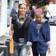 Wilow Smith et sa maman Jada Pinkett-Smith font du shopping à Malibu le 21 avril 2012