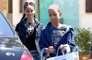 Willow Smith et sa maman Jada Pinkett, lookées pareil, en virée shopping !