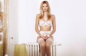 Katsia Damankova : Irrésistiblement sexy en lingerie Stella McCartney