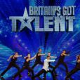 Le groupe français Cascade dans l'émission  Britain's Got Talent , sur ITV, le 21 avril 2012.