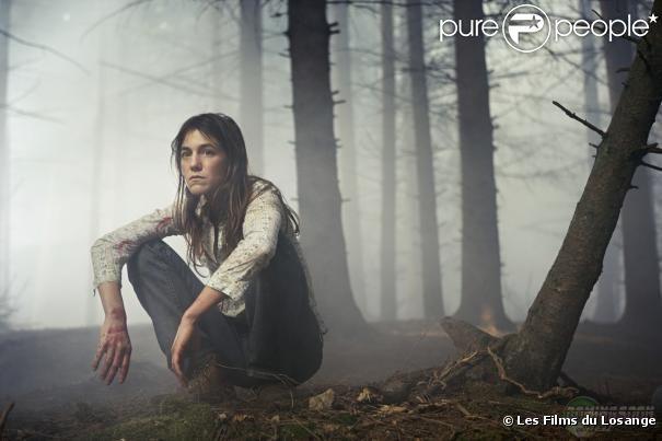 Charlotte Gainsbourg dans  Antichrist  (2009) de Lars von Trier.