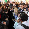 La belle Luisana Lopilato présente son livre  Luisana   en casa  le 25 avril 2012 à Buenos Aires