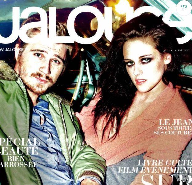 Le magazine Jalouse - mai 2012 avec Garrett Hedlund et Kristen Stewart en couverture