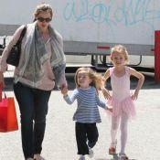 Jennifer Garner : Sublime au naturel avec ses filles malgré ses kilos en trop