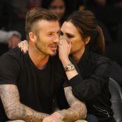 David et Victoria Beckham : Un baiser sur écran géant pour les deux amoureux