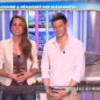 Jeny et Matthieu dans les Anges de la télé-réalité 4, le mag, jeudi 3 mai 2012 sur NRJ 12