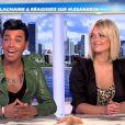 Bruno et Caroline dans les Anges de la télé-réalité 4, le mag, jeudi 3 mai 2012 sur NRJ 12