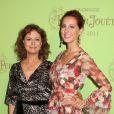 Susan Sarandon et sa fille Eva Amurri, en juin 2011 à New York.