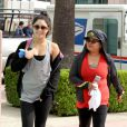 Vanessa Hudgens va à la salle de gym à Studio City avec sa maman, le jeudi 10 mai 2012.