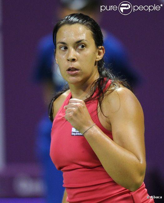 Marion Bartoli le 16 février 2012 à Doha au Qatar
