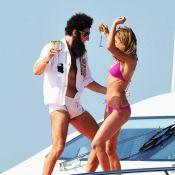 Cannes 2012 : Sacha Baron Cohen, en maillot et à dos de chameau sur la Croisette