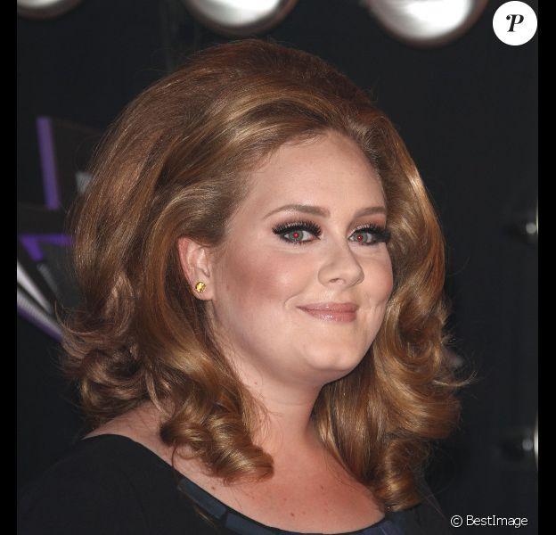 Adele à Los Angeles, en août 2011.