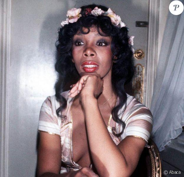 Donna Summer dans les années 70.