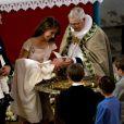 Le baptême de la princesse Athena Marguerite Françoise Marie de Danemark, née le 24 janvier 2012 de l'amour du prince Joachim et de la princesse Marie, a eu lieu le 20 mai 2012 en l'église de Møgeltønder, conduit par l'évêque Erik Norman Svendsen.