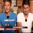 Ludovic et Samuel dans Pékin Express - Le passager mystère sur M6 le mercredi 23 mai 2012