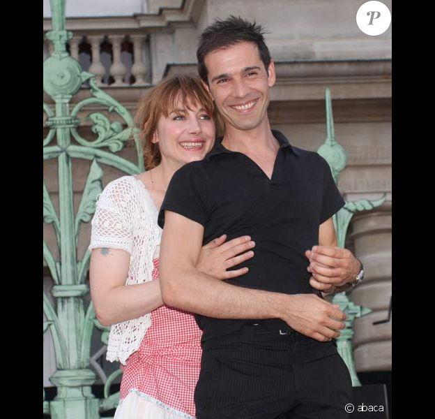 Julie Depardieu et Stéphane Druet ont présenté les Contes d'Hoffmann, le 10/06/08